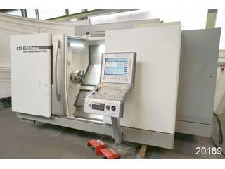Lathe machine DMG CTX 420 linear-0