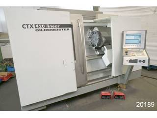 Lathe machine DMG CTX 420 linear-1