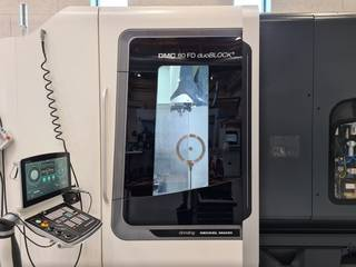 Lathe machine DMG DMC 80 FD DuoBlock-2