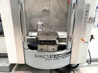 Milling machine DMG DMC 80 H doubock-8