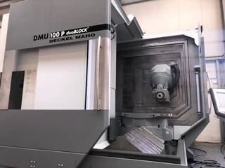 Milling machine DMG DMU 100 P, Y.  2007-1