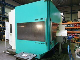 Milling machine DMG DMU 125 T, Y.  1999-0