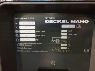 Milling machine DMG DMU 40 evo-2