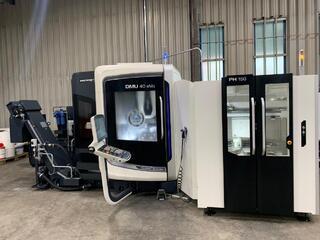 Milling machine DMG DMU 40 evo & PH 150-1