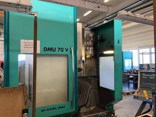 Milling machine DMG DMU 70 V-0