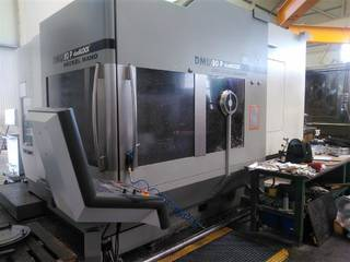 Milling machine DMG DMU 80 P duoBlock 18.sp 60 Wz, Y.  2006-3