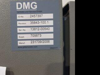 Milling machine DMG DMU 80 P duoBlock 18.sp 60 Wz, Y.  2006-8