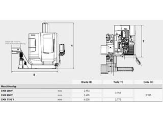 Milling machine DMG Mori CMX 600 V-13