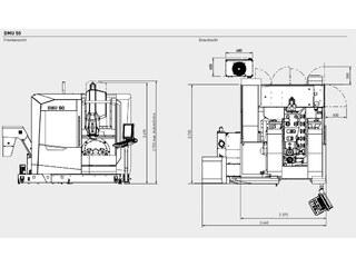 Milling machine DMG Mori DMU 50 3rd Gen.-12