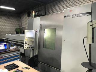 Lathe machine DMG Sprint 65 Linaer-0