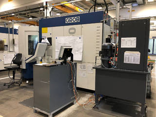 Milling machine Grob G 350, Y.  2012-3