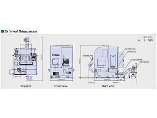 Lathe machine Hankook VTC 85 R-5