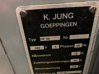 Grinding machine Jung HF 50 RD-6