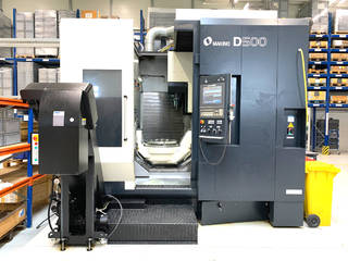 Milling machine Makino D500, Y.  2016-5
