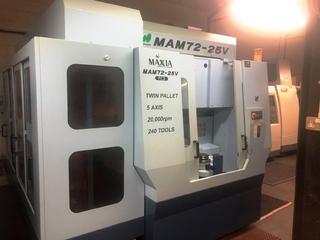 Milling machine Matsuura MAM 72 25V, Y.  2007-1