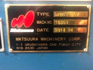 Milling machine Matsuura MAM 72 35V-9