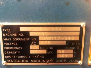 Milling machine Matsuura MAM 72 35V-10