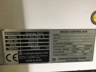 Milling machine Mazak FJV 60/160-9