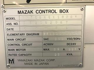Lathe machine Mazak Integrex 100 SY-II-7
