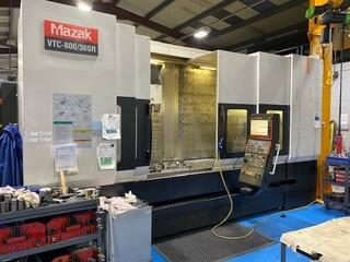 Milling machine Mazak VTC 800 / 30 SR, Y.  2008-0