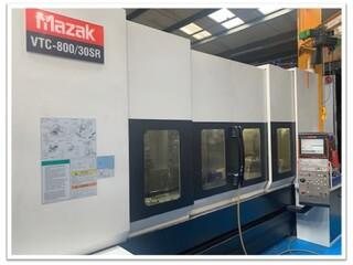 Milling machine Mazak VTC 800 / 30 SR, Y.  2008-3