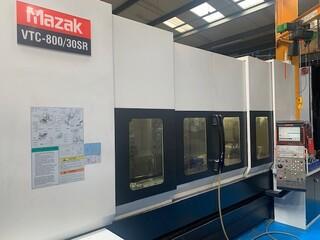 Milling machine Mazak VTC 800 / 30 SR, Y.  2008-5