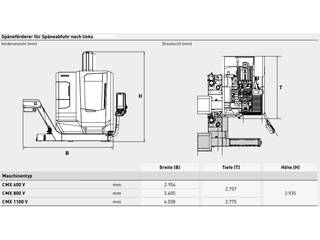 Milling machine DMG Mori CMX 600 V-9