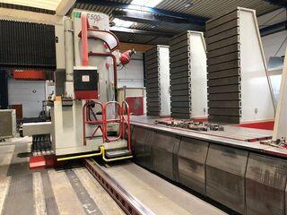 Mecof Agile CS-500 - 2000 Bed milling machine-2