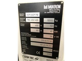 Milling machine Mikron UCP 710-11