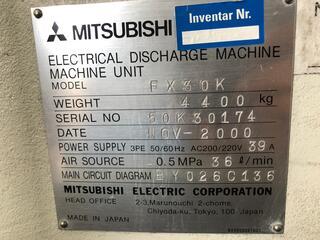 Mitsubishi FX 30 K Wire EDM-8