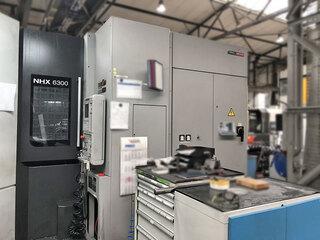 Milling machine Mori Seiki NHX 6300, Y.  2012-1