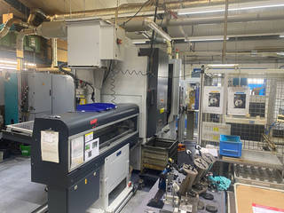 Lathe machine Mori Seiki NL 2500 SMC  700-8