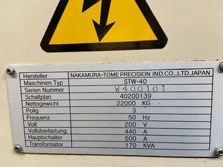 Lathe machine Nakamura STW - 40-8