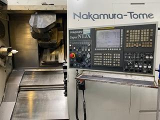 Lathe machine Nakamura Super NTJX-1