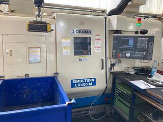 Lathe machine Okuma LU 400 M-6