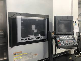 Lathe machine Okuma Multus U 3000-12