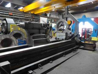 Lathe machine Pontigia PH 800 E CNC-4