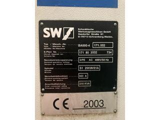 Milling machine SW BA 600 - 4-1
