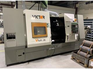 Lathe machine Victor V-Turn 36/125 CV-0