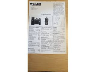 Lathe machine Weiler Matador W2-1