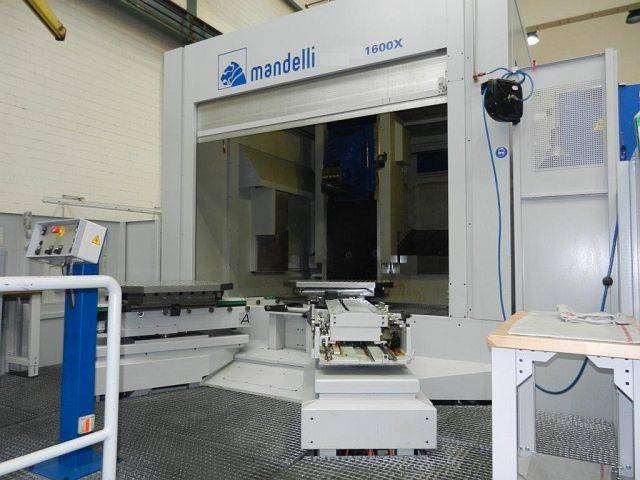 more images Milling machine Mandelli 1600 X