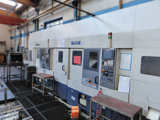more images Lathe machine 2 x Mori Seiki CL 200 M - LG5 Transferanlage