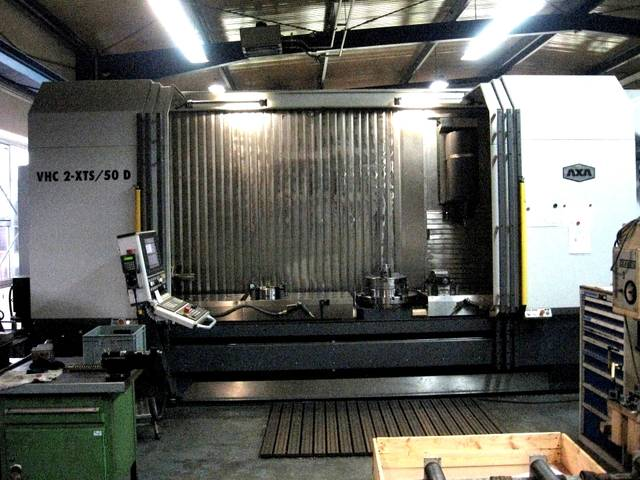 more images Milling machine AXA VHC 2/3000 XT /50 D