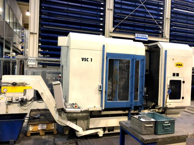 more images Milling machine AXA VSC1 - 1500, Y.  2007