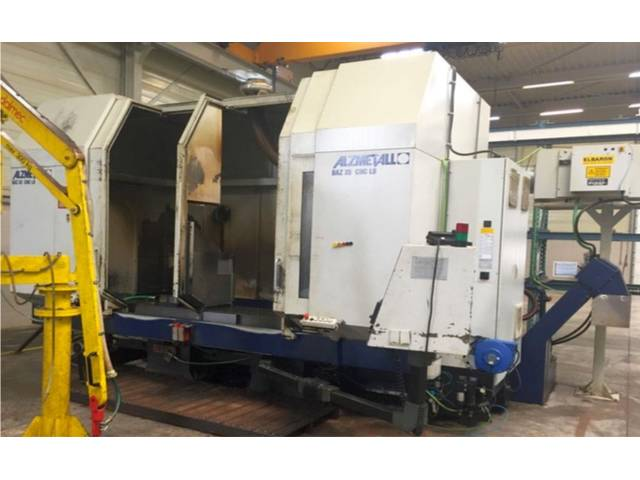 more images Milling machine Alzmetall BAZ 35 CNC LB, Y.  2000