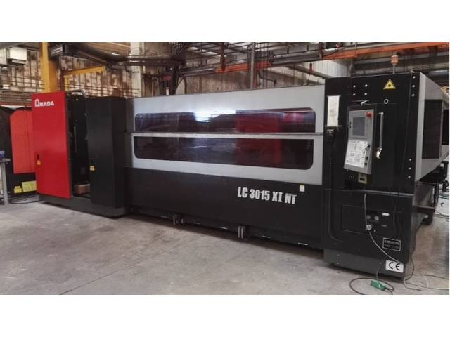 more images Amada LC 3015 X1 NT 4000 W Laser Cutting Systems