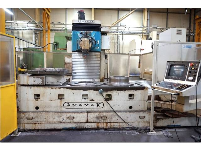 more images Anayak FBZ - HV 2500 Bed milling machine