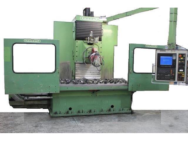 more images Anayak HVM 2300 rebuilt Bed milling machine
