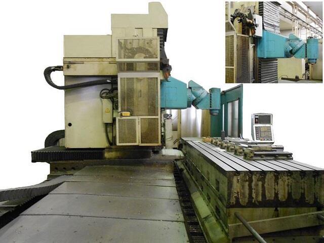 more images Anayak HVM 5000 PHS rebuilt Bed milling machine