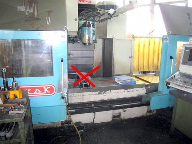 more images Anayak VH 1800 Bed milling machine